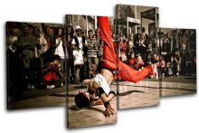 B-Boy Break Dancer Urban - 13-1817(00B)-MP04-LO
